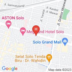 Map RIYADI PALACE