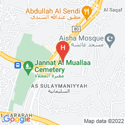 Map UMM AL QURA HOTEL MAKKAH - BY AL RAWDA