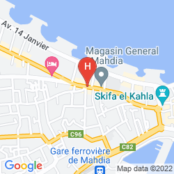 Map LE PHENIX DE MAHDIA