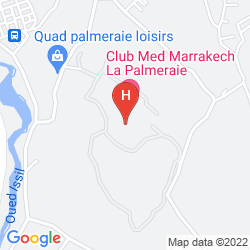 Map CLUB MED MARRAKECH LA PALMERAIE