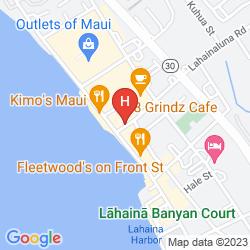 Map LAHAINA INN