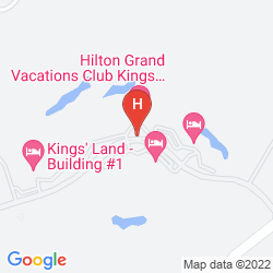 Map KING'S LAND BY HILTON GRAND VACATIONS