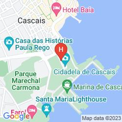 Map PESTANA CIDADELA CASCAIS - POUSADA & ART DISTRICT