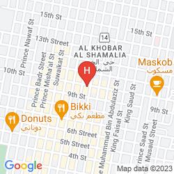 Map CARLTON AL MOAIBED HOTEL