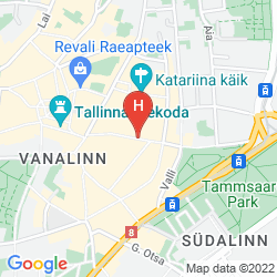 Map BALTIC HOTEL VANA WIRU