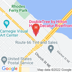 Map DOUBLETREE BY HILTON HOTEL DECATUR RIVERFRONT