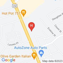 Map ECONO LODGE