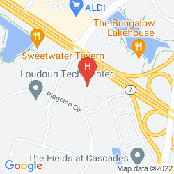 Map HYATT PLACE STERLING DULLES NORTH