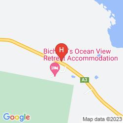 Map BEACHFRONT BICHENO