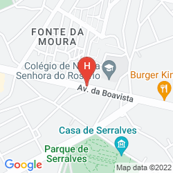 Map PORTO PALACIO HOTEL & SPA - S.HOTELS COLLECTION