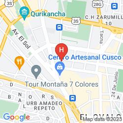 Map CHAKANA HOSTEL