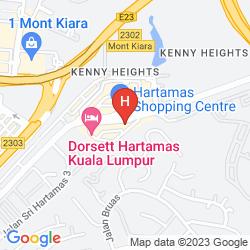 Map DAMAS SUITES & RESIDENCES KUALA LUMPUR HOTEL