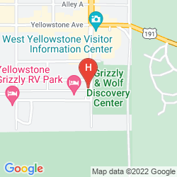 Map GRAY WOLF INN AT WEST YELLOWSTONE