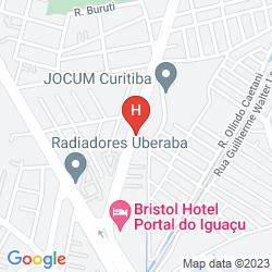 Map BRISTOL PORTAL DO IGUACU HOTEL