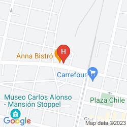 Map PARADISE DEPARTAMENTOS