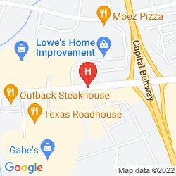 Map HOLIDAY INN EXPRESS HARRISBURG EAST