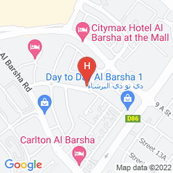 Map ABIDOS HOTEL APARTMENT - AL BARSHA