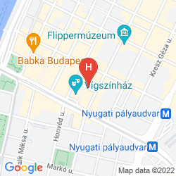 Map NH BUDAPEST CITY