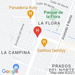Map HOTEL INNOVA CHIPICHAPE