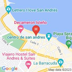 Map HOTEL BAHIA SARDINA WELCOME