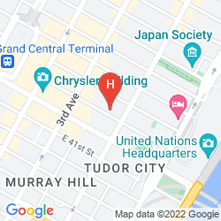 Map HAMPTON INN MANHATTAN GRAND CENTRAL