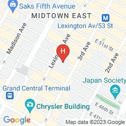 Map RESIDENCE INN NEW YORK MANHATTAN/MIDTOWN EAST