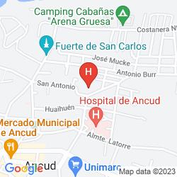 Map PANAMERICANA HOTEL ANCUD