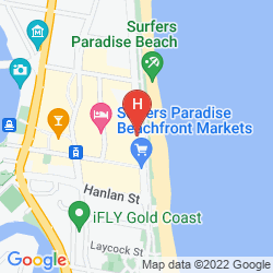 Map PEPPERS SOUL SURFERS PARADISE