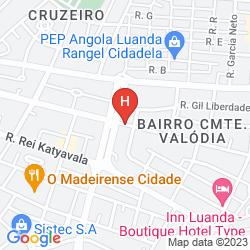 Map APARTHOTEL TROPICANA