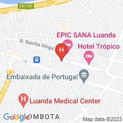 Map HOTEL RITZ CAPITAL