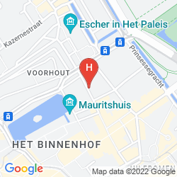 Map HOLIDAY INN EXPRESS THE HAGUE PARLIAMENT