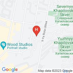 Map SLAVYANKA HOTEL MOSCOW