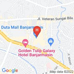 Map MERCURE BANJARMASIN