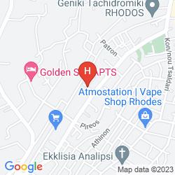 Map APARTMENTS GENNADI GARDEN