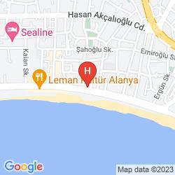 Map BEST BEACH HOTEL
