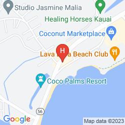 Map PONO KAI RESORT