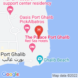 Map CROWNE PLAZA SAHARA SANDS RESORT