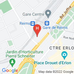 Map RESIDHOME REIMS CENTRE