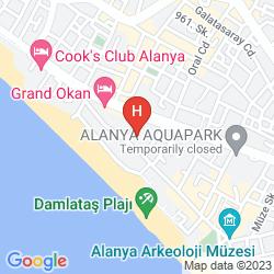 Map SARA HOTEL