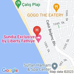 Map CEREN HOTEL