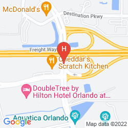 Map DOUBLETREE BY HILTON ORLANDO AT SEAWORLD