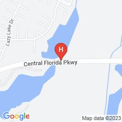 Map THE RITZ-CARLTON ORLANDO GRANDE LAKES