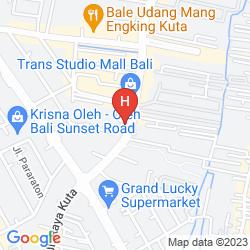 Map B HOTEL BALI & SPA