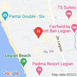 Map BALEKA RESORT HOTEL & SPA