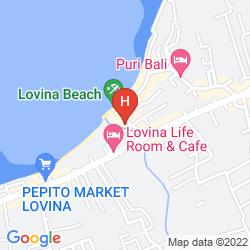 Map COCONUT BEACH RESORT