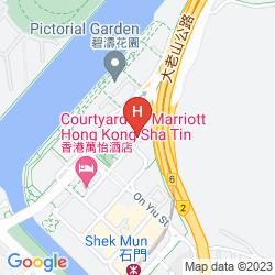 Map COURTYARD BY MARRIOTT HONG KONG SHA TIN