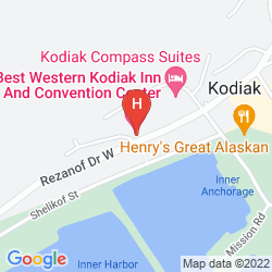 Map BEST WESTERN KODIAK INN
