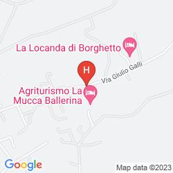 Map RESORT LA ROCCHETTA