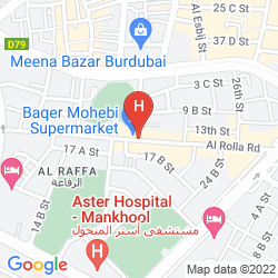 Map SAVOY CENTRAL HOTEL APARTMENTS