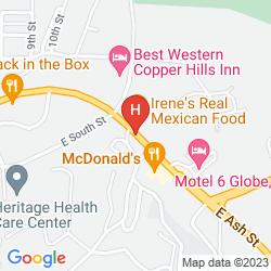 Map DAYS INN GLOBE